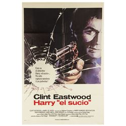 Dirty Harry Spanish Poster.