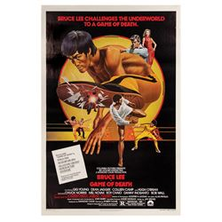 Game of Death Bruce Lee One Sheet Poster.