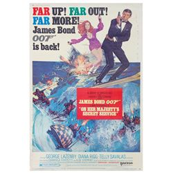 On Her Majesty's Secret Service 40x60 Poster.