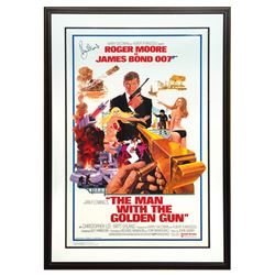 Signed The Man with the Golden Gun Poster.