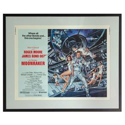 Moonraker Half Sheet Poster.