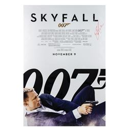 Signed Skyfall Event Poster.