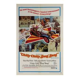 Chitty Chitty Bang Bang One Sheet Poster.