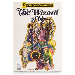 The Wizard of Oz 40x60 Poster.