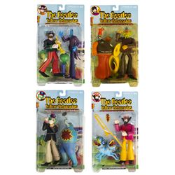 Collection of (4) The Beatles Yellow Submarine Figures.
