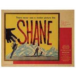 Shane Half Sheet Poster.