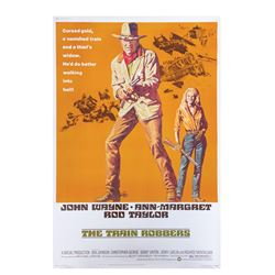The Train Robbers 40x60 Poster.