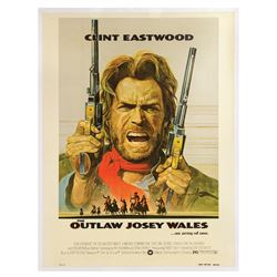 The Outlaw Josey Wales 30x40 Poster.