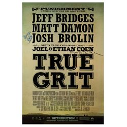 Signed True Grit Event Poster.