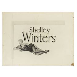 Behave Yourself! Shelley Winters Title Card Prop.