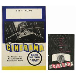 This is Cinerama Program & Poster.