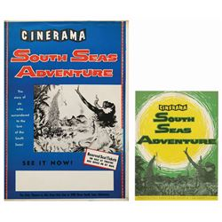 South Seas Adventure Program & Poster.