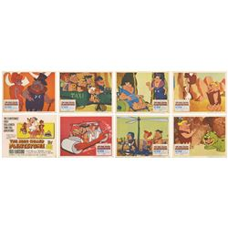 Set of (8) The Man Called Flintstone Lobby Cards.