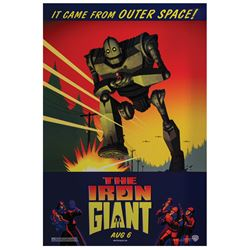 Iron Giant One Sheet Poster.
