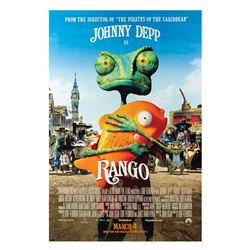 Signed Rango Event Poster.