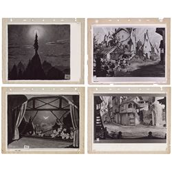 Collection of (4) Gustaf Tenggren Pinocchio Prints.
