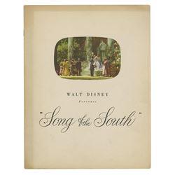 Song of the South Souvenir Program.