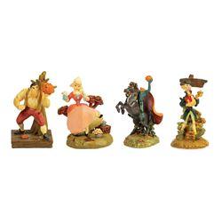 Ichabod Crane Pewter Miniatures.