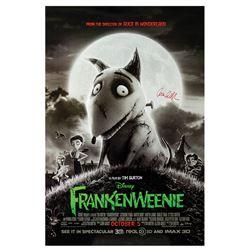 Signed Frankenweenie Event Poster.