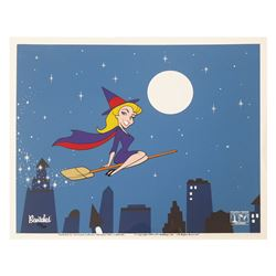 Bewitched Opening Title Hand-Painted Limited Ed. Cel.