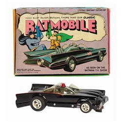 Batmobile Classic Slot Car in Box.