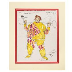 Laugh-in Original Costume Design Concept.