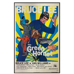 The Green Hornet Van Williams Signed One Sheet Poster.