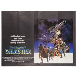 Battlestar Galactica British Quad Poster.