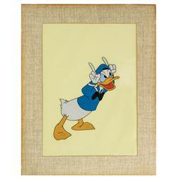Donald Duck Art Corner Cel.