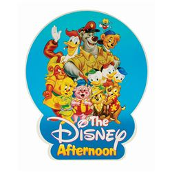 The Disney Afternoon Lamppost Sign.