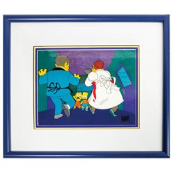 The Simpsons Treehouse of Horror Cel.