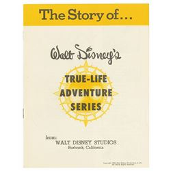 """Walt Disney's True-Life Adventure Series"" Booklet."