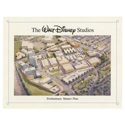 Walt Disney Studios Preliminary Master Plan Document.