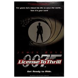 License to Thrill 007 Attraction Poster.