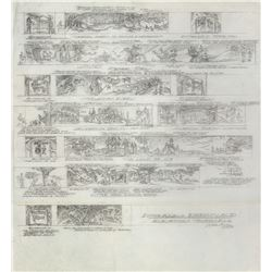Wes Cook Dreamland Elevation Thumbnails Drawing.