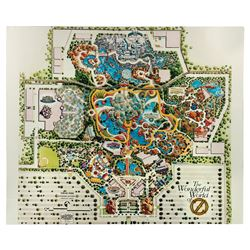 The Wonderful World of Oz Park Illustrated Masterplan.