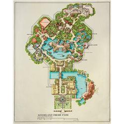 Neverland Theme Park Concept Masterplan.