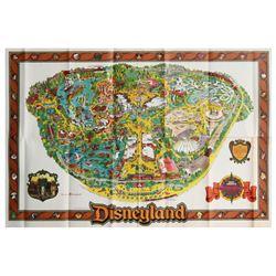 1983 Disneyland Souvenir Map.