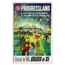 Progressland World's Fair Poster.