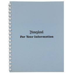 """For Your Information"" Employee Handbook."