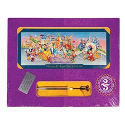 Walt Disney World 25th Anniversary Boxed Ticket.