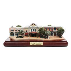 Hat Shop & Opera House Model by Olszewski.