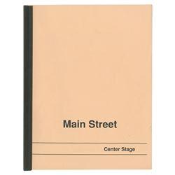 Main Street Center Stage Cast Member Handbook.