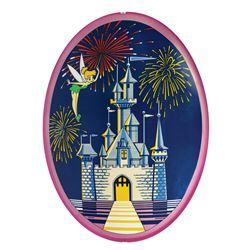 Tinker Bell Disneyland Entrance Sign.
