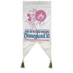 1986 Mickey Mouse Banner.