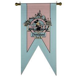 Mickey's 60th Birthday Disneyland Banner.