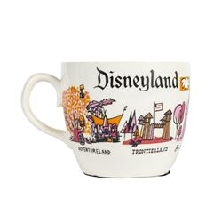 Disneyland Lands Coffee Mug.