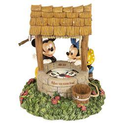 Minnie & Mickey Wishing Well Bank.
