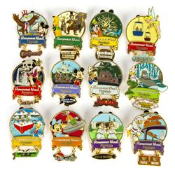 Collection of (12) Attraction Dangle Pins.
