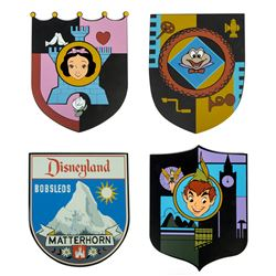 Set of (4) Metal Attraction Shields.